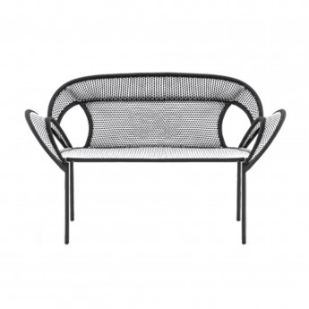 BANJOOLI sofa white/black