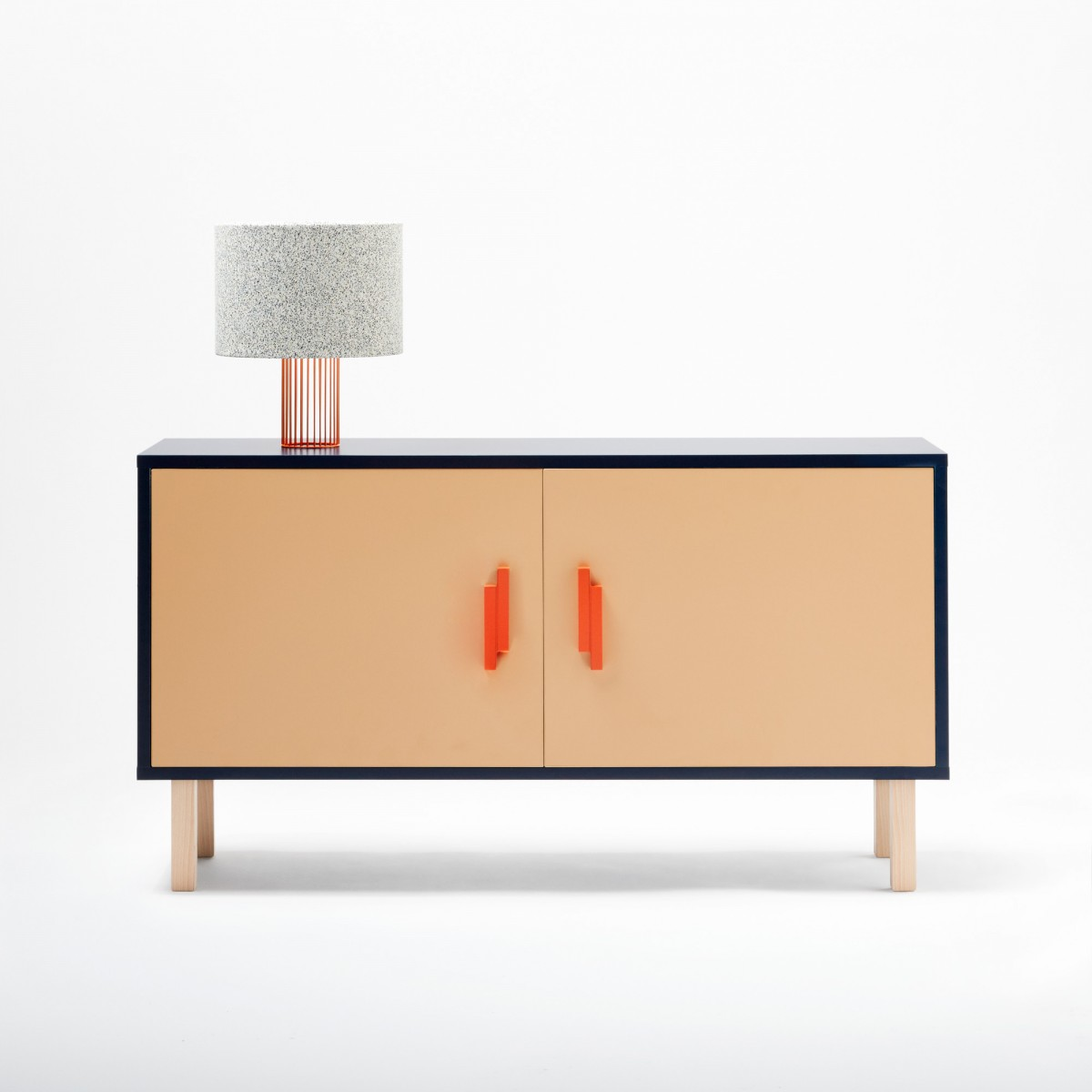 INVADER Sideboard Blue. Loading Zoom