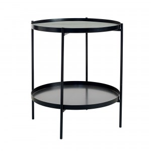 Table d'appoint TRAYTRAY S noir