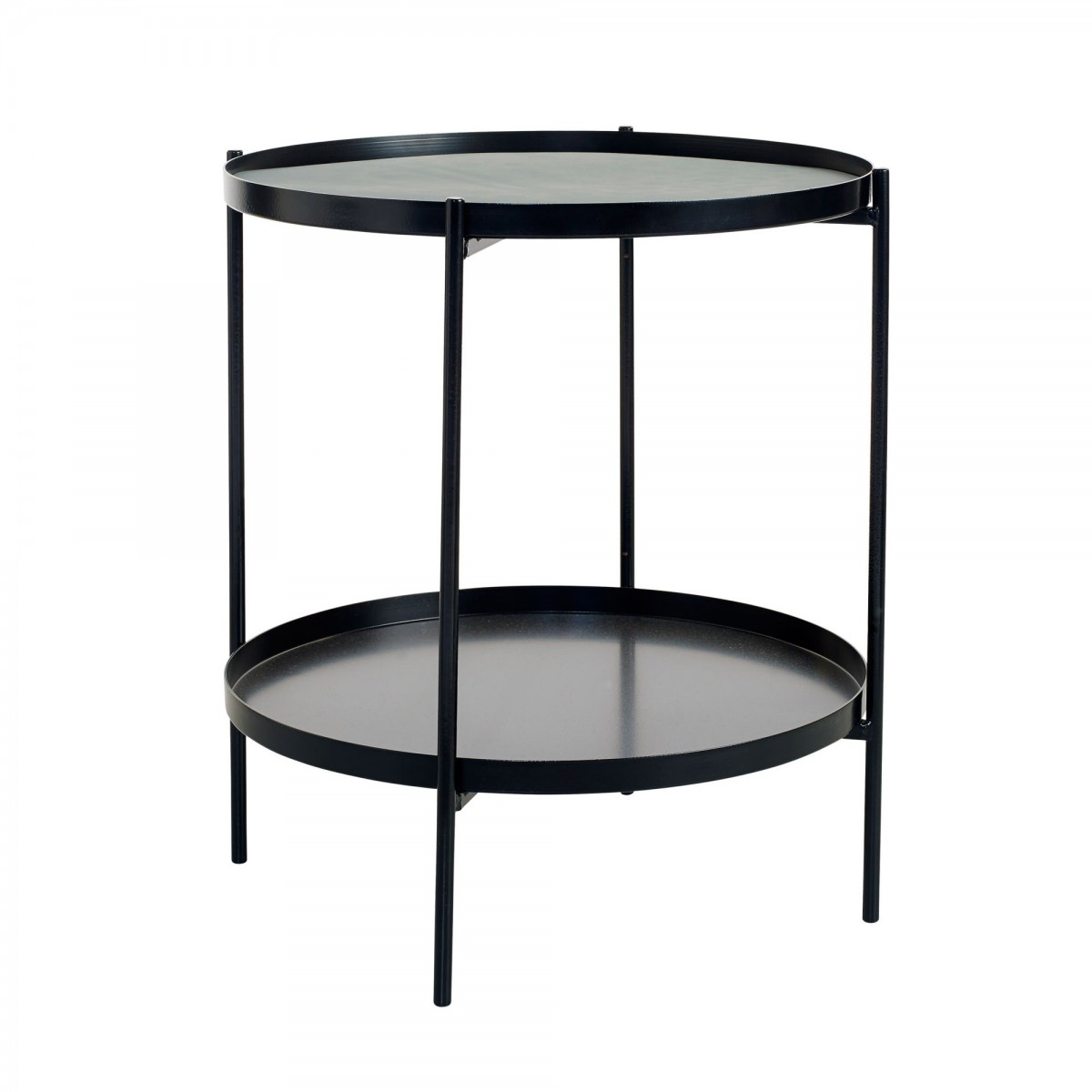 Tray side table s black bolia for Tray side table