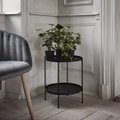 Table d'appoint TRAY S noir