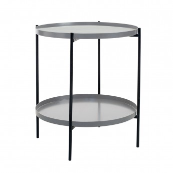 Table d'appoint TRAY S gris