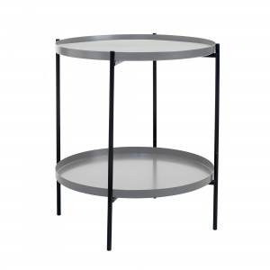 Table d'appoint TRAYTRAY S gris