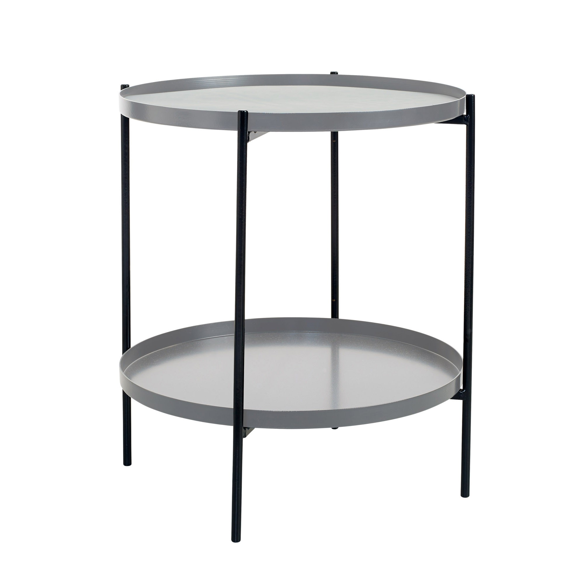 TRAY side table S grey BOLIA