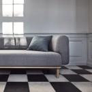 ABBY sofa 2 seats