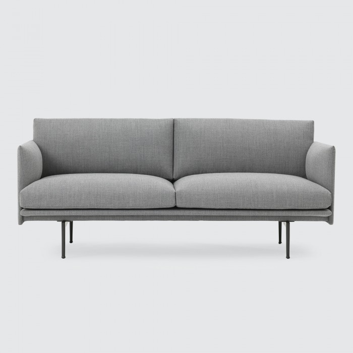 OUTLINE 2 seaters sofa - Fiord 151