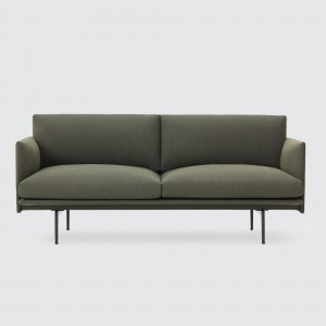 OUTLINE 2 seaters sofa - Fiord 961