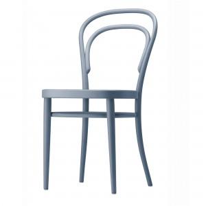 Chaise de bistrot 214 bleu