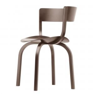 Chaise 404 F walnut