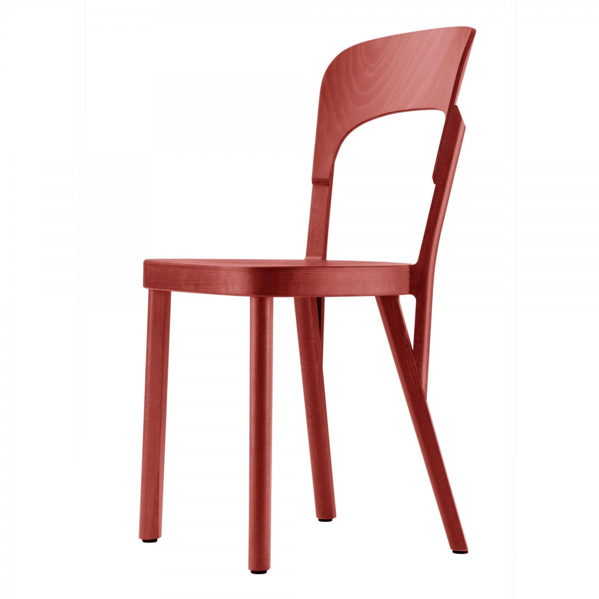 chaise 107 rouge thonet. Black Bedroom Furniture Sets. Home Design Ideas