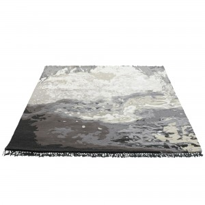 SALKA rug grey mix