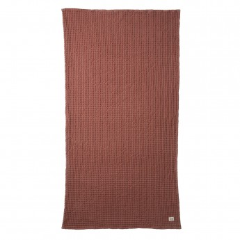 rust ORGANIC bath towel
