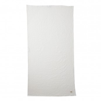 Serviette de bain ORGANIC blanc