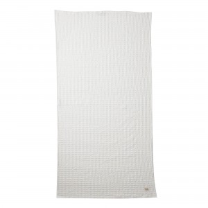 white ORGANIC bath towel