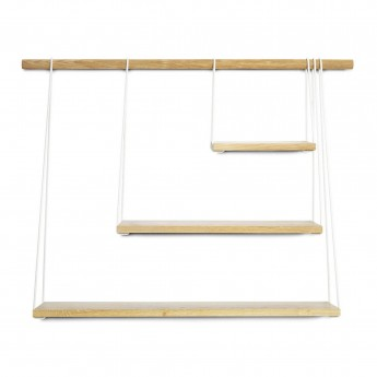 BRIDGE shelves black