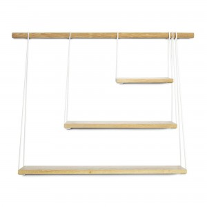 BRIDGE shelves white