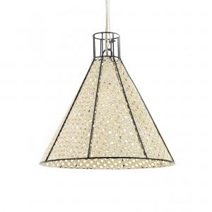 STRAW anthracite pendant lamp