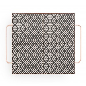 MIX & MATCH Big Square Tray Black