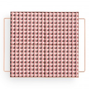MIX & MATCH Medium Square Tray Pink