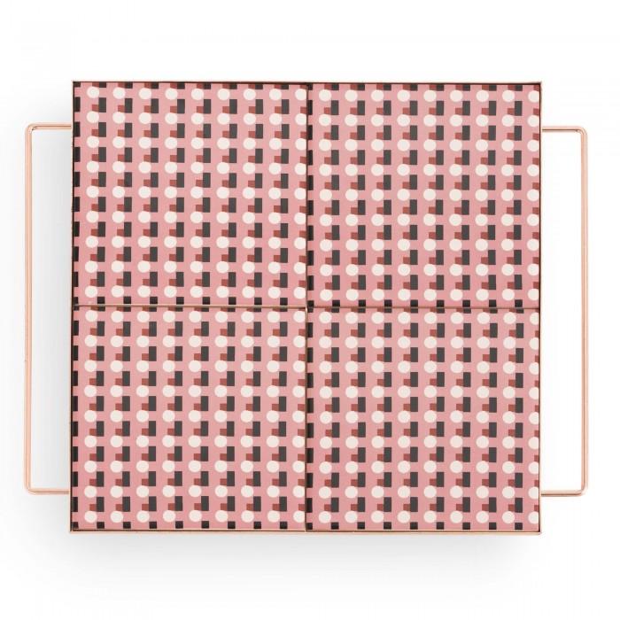 MIX & MATCH Medium Square Tray Pink