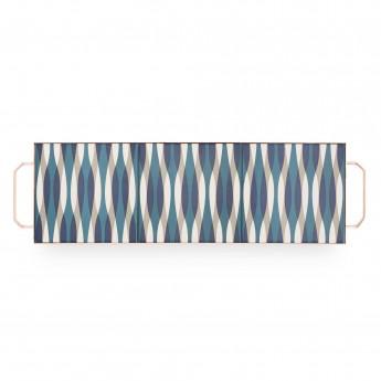MIX & MATCH Large Rectangular Tray Blue