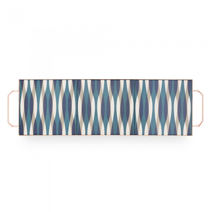MIX & MATCH Large Rectangular Tray Blue