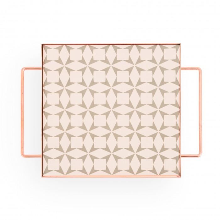 Plateau MIX & MATCH carré gris S