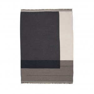 Couverture COLOUR BLOCK gris