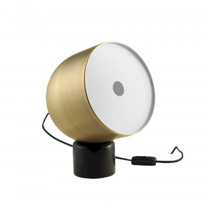 FARO golden table lamp