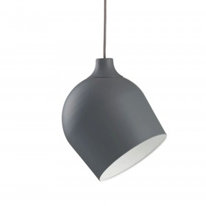 Rotate Pendant matt grey