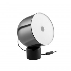 FARO black chrome table lamp