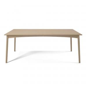 Table MEET - chêne pigmenté banc