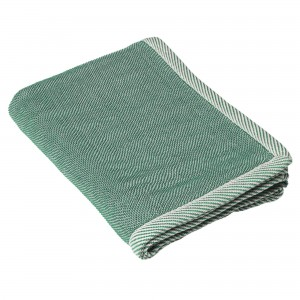RIPPLE green throw