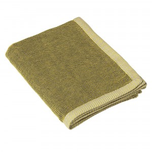RIPPLE yellow throw
