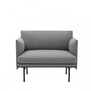 OUTLINE armchair - Fiord 151