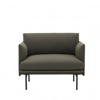 OUTLINE armchair - Fiord 961