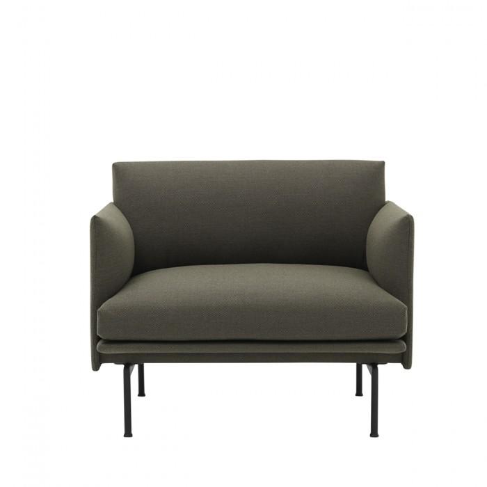 OUTLINE armchair - Fiord 961