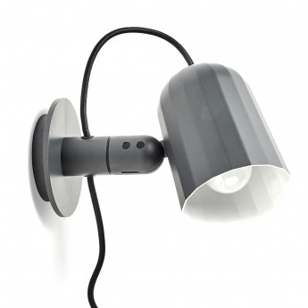 NOC lamp dark grey
