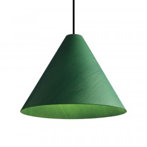 30 DEGREE green pendant lamp