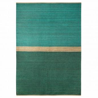 Green FIELD rug