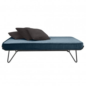 CROISETTE velvet bed midnight blue