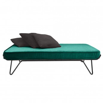 CROISETTE velvet bed green