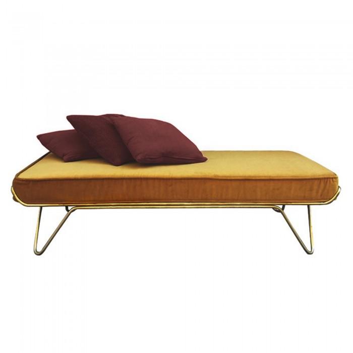 CROISETTE velvet bed camel