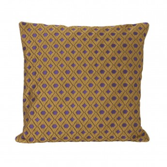 SALON cushion - curry mosaic