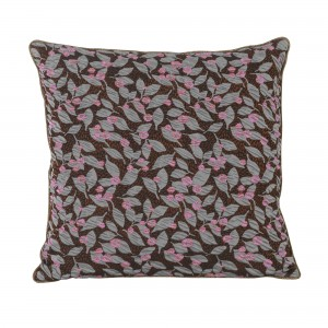 SALON cushion - Rust flower