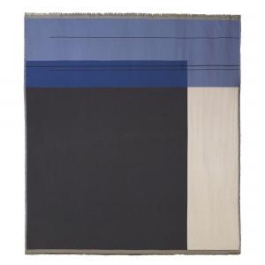 Couverture de lit COLOUR BLOCK bleu