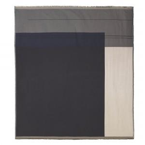 Couverture de lit COLOUR BLOCK gris