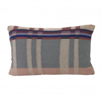 MEDLEY knit cushion dusty blue L
