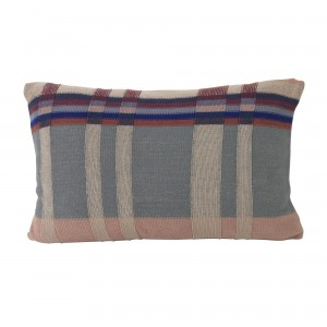 MEDLEY knit cushion dusty blue L