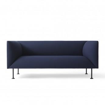 Canapé GODOT 2 places bleu royal